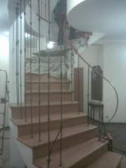 Лестницы металлические изготовление и монтаж любой