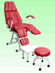 Pedicure and cosmetology chair of KP-3 with