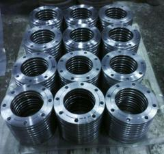 Flanges steel corrosion-proof from DU20 to DU1000