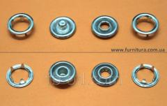 The button knitted FB D-9,5 of mm - nickel