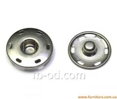 Button attached D17 of mm metal (nickel)
