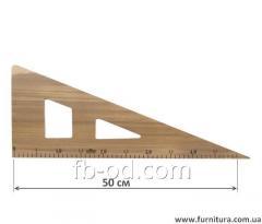 Ruler lekalny wooden No. 2