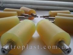 Ролики и валы полиуретановые и покрытые
