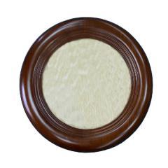 Frame round wooden