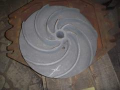 Castings and molding from a gray and high-test