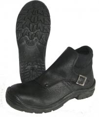 Boots of the welder, with flow + the sock m