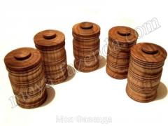 Set of jars for spices (5 pieces) (X-4 code)