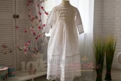 Baptismal dress Tenderness. Vintage collection