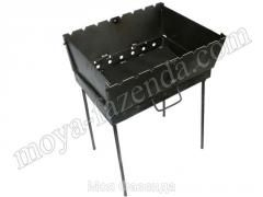 Folding brazier for a shish kebab (8 skewers)