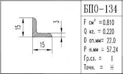 Corner aluminum BPO - 134