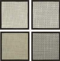 The grid is filter woven