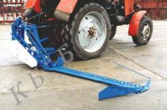 Mower manual odnobrusny KPN 2,1 hinged