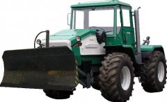 The HTA-200-D tractor with the buldoser equipmen