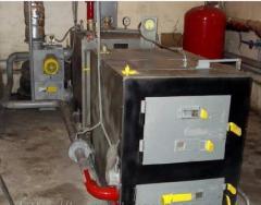 Котел водонагревательный газогенераторный