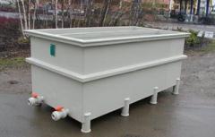 Galvanic bathtub