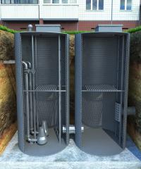 KNS sewer pump station