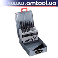 Drill bit set 1-10 mm 19 PCs. VIGOR Germany