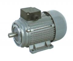 Electric motors with ventilatory cooling