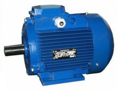 Electric motors are asynchronous