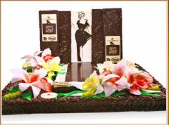 Торты на заказ шоколадно-ореховые Луганск,