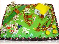 Торты на заказ Луганск, Торт Украинский, торт