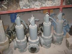 Клапан предохранительный СППКр Ду80 Ру16 - 4 шт