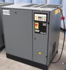 Б/у гвинтовий компресор Atlas Copco GA15 Атлас