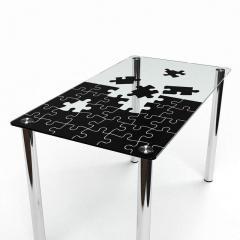 Стол обеденный прямоугольный Пазл 0244