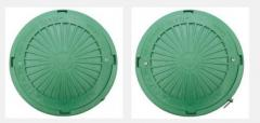 Люк смотровых колодцев полимерный Тип Л зеленый