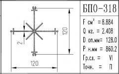 The BPO brand construction aluminum shape - 318