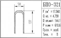 The BPO brand construction aluminum shape - 321