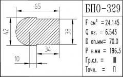 The BPO brand construction aluminum shape - 329