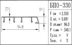 The BPO brand construction aluminum shape - 330