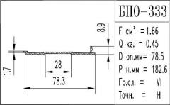 The BPO brand construction aluminum shape - 333