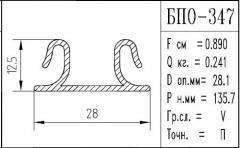 The BPO brand construction aluminum shape - 347