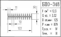 The BPO brand construction aluminum shape - 348