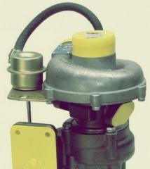 TKR-6.1 turbocompressor with the valve