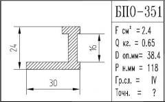 The BPO brand construction aluminum shape - 351