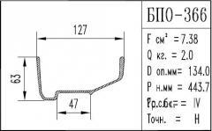 The BPO brand construction aluminum shape - 366