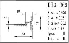 The BPO brand construction aluminum shape - 369