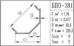The BPO brand construction aluminum shape - 381