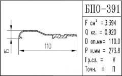 The BPO brand construction aluminum shape - 391