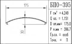The BPO brand construction aluminum shape - 395