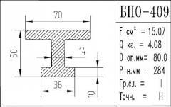 The BPO brand construction aluminum shape - 409