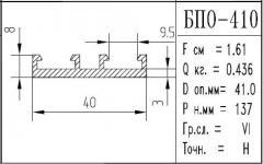 The BPO brand construction aluminum shape - 410