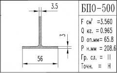 The BPO brand construction aluminum shape - 500
