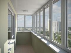 Балконные рамы из профилей TROCAL и KBE