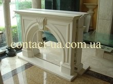 Chimney portals from marble