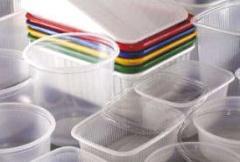 Контейнеры из полиэтилена, пластиков, резины
