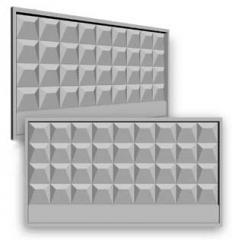 Плиты заборные (ж/б ограждения) панели ограждения